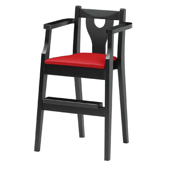 【 業務用 】イルカB椅子 赤レザー | 張地:オールマイティー 6467 シンコール 【 メーカー直送/後払い決済不可 】