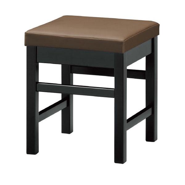 【 業務用 】天竜B椅子 茶レザー | 張地:クレンズII 6297 シンコール 【 メーカー直送/後払い決済不可 】