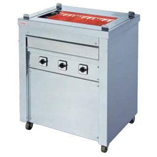 押切電機 スタンド型 電気グリラー (万能タイプ) G-10 720×550×850【 メーカー直送/後払い決済不可 】 【厨房館】
