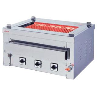 押切電機 卓上型 電気グリラー (卓上万能タイプ) G-10T(給排水付) 720×550×350【 メーカー直送/後払い決済不可 】 【厨房館】