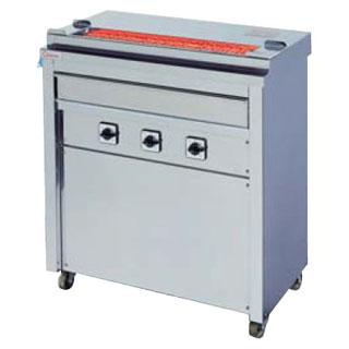 【 業務用 】押切電機 スタンド型 電気グリラー (串焼きタイプ) GK-6 760×410×850