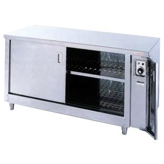 押切電機 電気ディッシュ ウォーマー・テーブル (両側開戸タイプ) ODW-960W 900×600×800【 メーカー直送/後払い決済不可 】 【厨房館】