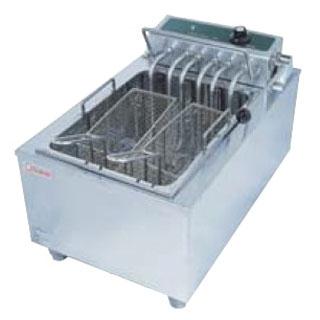 【 業務用 】押切電機 スウィング式 電気卓上フライヤー OFT-400 380×600×300