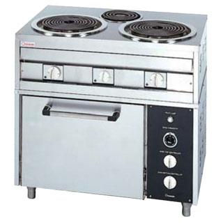 押切電機 電気レンジ (オーブン付) OKRO-150PA 900×600×850【 メーカー直送/後払い決済不可 】 【厨房館】