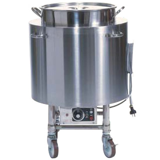 【 業務用 】押切電機 電気スープ ウォーマーカート (丸型) OTR-500 φ500×800