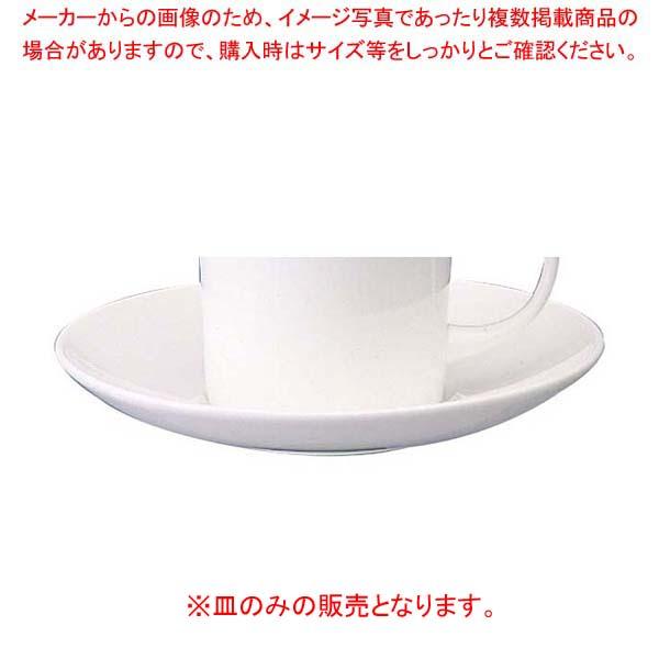 【まとめ買い10個セット品】W・W ホワイトコノート コーヒーソーサー キャン 53610003576【 和・洋・中 食器 】 【厨房館】