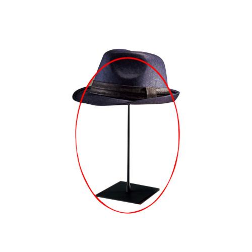 【まとめ買い10個セット品】 卓上ディスプレー ブラック 帽子掛け【店舗什器 パネル 壁面 店舗備品 仕切 棚】【厨房館】