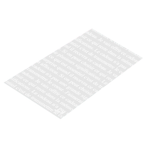 【まとめ買い10個セット品】 フレンチフロスト ギフトバッグ 16×26 2000枚【店舗什器 小物 ディスプレー ギフト ラッピング 包装紙 袋 消耗品 店舗備品】【厨房館】