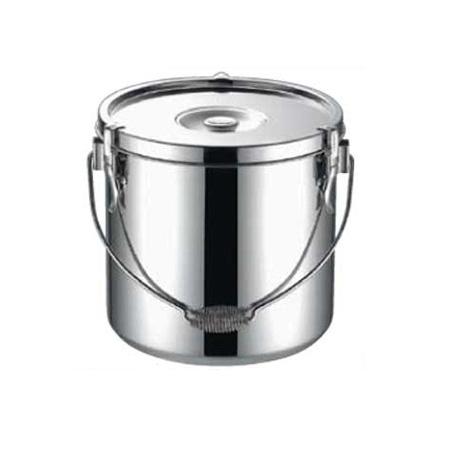 【まとめ買い10個セット品】KO19-0電磁調理器対応給食缶 18cm 【厨房館】