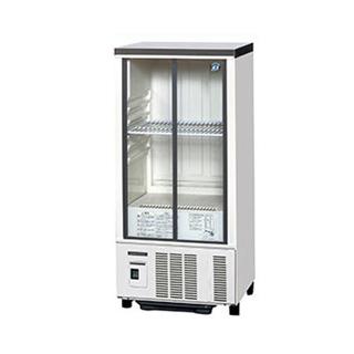 ホシザキ 冷蔵ショーケース SSB-48CTL2 幅485×奥行450×高さ1080(mm) 90リットル【 メーカー直送/後払い決済不可 】 【厨房館】