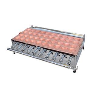 【 業務用 】大判焼 銅板/熱気式 OY60R【 メーカー直送/後払い決済不可 】