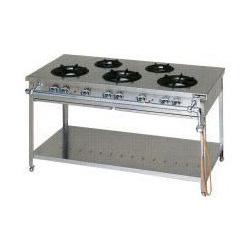 【 業務用 】マルゼン スタンダードタイプガステーブル MGT-157DS 1500×750×800【 メーカー直送/後払い決済不可 】
