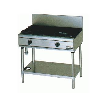 【 業務用 】マルゼン NEWパワークックガステーブル RGT-0962C 900×600×800【 メーカー直送/後払い決済不可 】