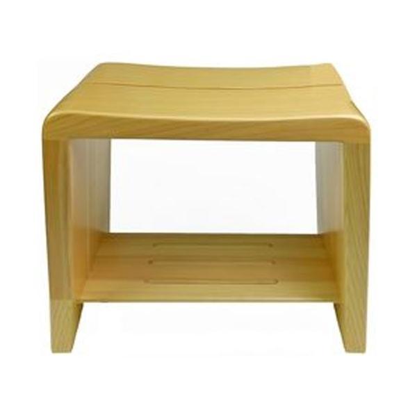 高級日光桧 匠の風呂椅子(癒し)【厨房館】
