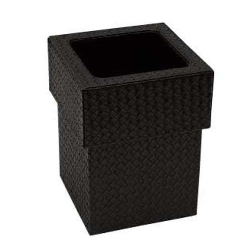 【まとめ買い10個セット品】 シンビ ダストボックス(蓋付き) TM-N ブラック
