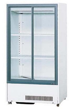 サンデン 業務用 冷蔵ショーケース キュービック標準型 スライド扉タイプ 299L MU-179XE (旧型式:MU-179X) W750×D565×H1400mm