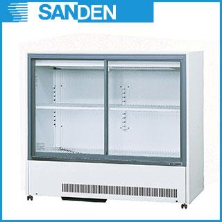 【 業務用 】冷蔵ショーケース サンデン キュービックタイプ MU-184XE 【 キュービック標準型タイプ 】 【 メーカー直送/代引不可 】