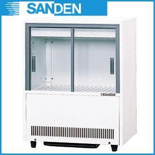 【 業務用 】冷蔵ショーケース サンデン キュービックタイプ VRS-U35XE 【 キュービック超薄型タイプ アンダーカウンタータイプ 】【 メーカー直送/後払い決済不可 】【PFS SALE】