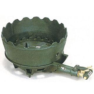 【 業務用 】タチバナ製作所 ニ重羽根なし・種火なし 上置セット ガスコンロ TS-210U