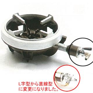 【 業務用 】タチバナ製作所 PS認定 JIA認定 一重小・種火付 五徳セット ガスコンロ TS-510PS