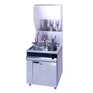 【 業務用 】タニコー ガスゆで麺器 N-TU-1