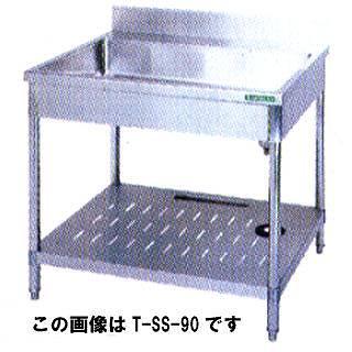 【 業務用 】タニコー そばシンク T-SS-90 【 メーカー直送/代引不可 】