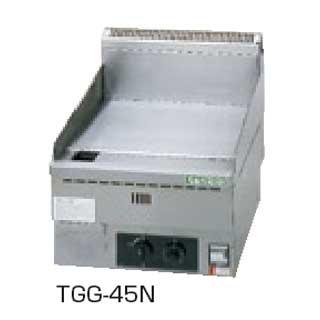 【 業務用 】タニコー 卓上ガスグリドル TGG-45N 【 メーカー直送/代引不可 】
