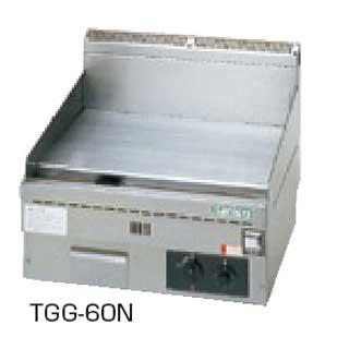 【 業務用 】タニコー 卓上ガスグリドル TGG-60N 【 メーカー直送/代引不可 】