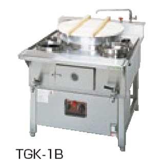 【 業務用 】タニコー ガス生そば釜 TGK-1B