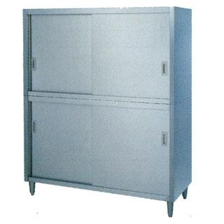 【 業務用 】業務用片面タイプステンレス戸食器棚 CO型 CO-1545 1500×450×1800 【 メーカー直送/代引不可 】