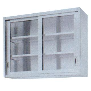 【 業務用 】業務用ガラス戸吊戸棚 GHL型 GHL-9030 900×300×900 【 メーカー直送/代引不可 】