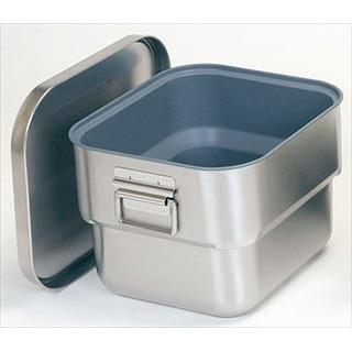 【 業務用 】ステン マイルドボックスS[オールステンレス角型二重食缶] 10L テフロン加工