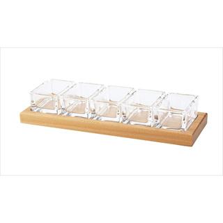 【まとめ買い10個セット品】【 業務用 】ガラス薬味入れ No.685
