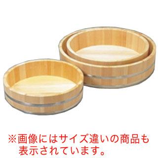 【 業務用 】木製ステン箍 飯台(サワラ材)  60cm