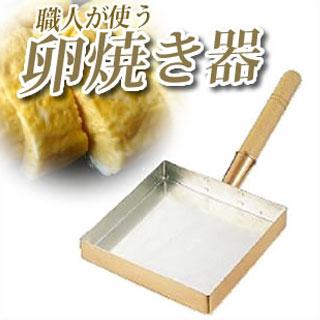 【 業務用 】SA銅 玉子焼 関東型 30cm