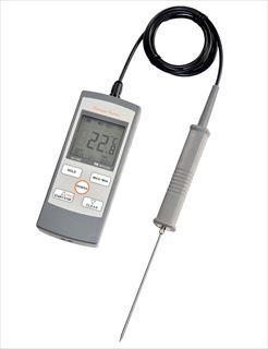『 温度計 』防水ハンディー型白金デジタル温度計 SN-3400 標準センサー付【厨房館】