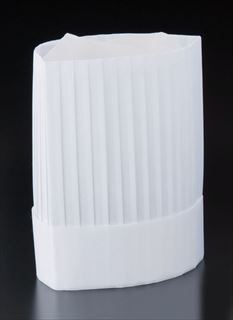 【まとめ買い10個セット品】ニュークリーンハット コック帽 (10枚入)YS-20E 【厨房館】