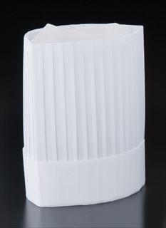 【まとめ買い10個セット品】ニュークリーンハット コック帽 (10枚入)YS-25E 【厨房館】