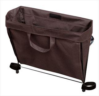 【まとめ買い10個セット品】 【 業務用 】サイドバッグレスト 替バッグケース5枚入 SBR-4用 茶 【5-2044-0204】