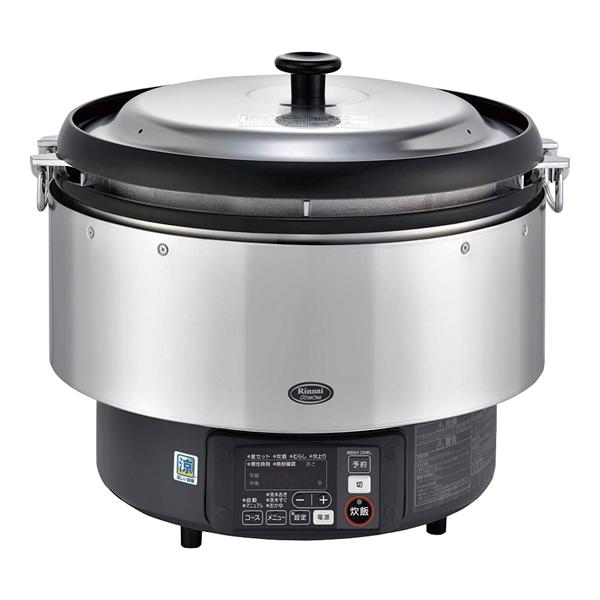 リンナイ ガス炊飯器αかまど炊き RR-S500G 12・13A 【 メーカー直送/代引不可 】 【厨房館】