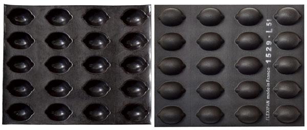 ドゥマール フレキシパン 20取 REF1529 レモン型 【厨房館】