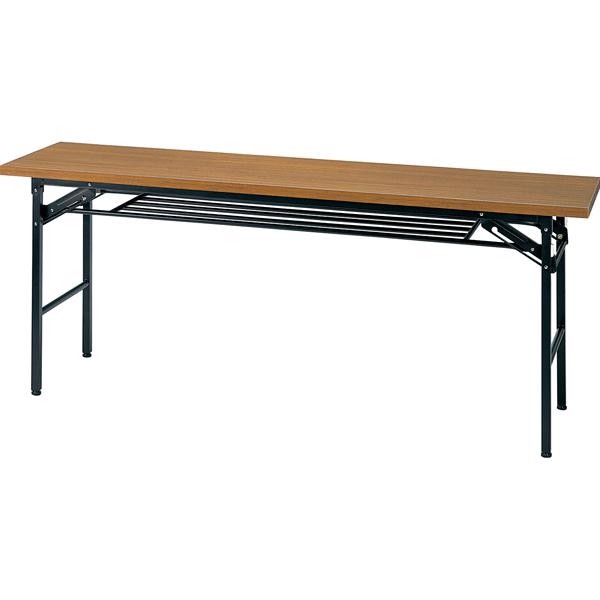 ミーティングテーブル ハイタイプ チーク KM1845TT 【 メーカー直送/代引不可 】 【厨房館】