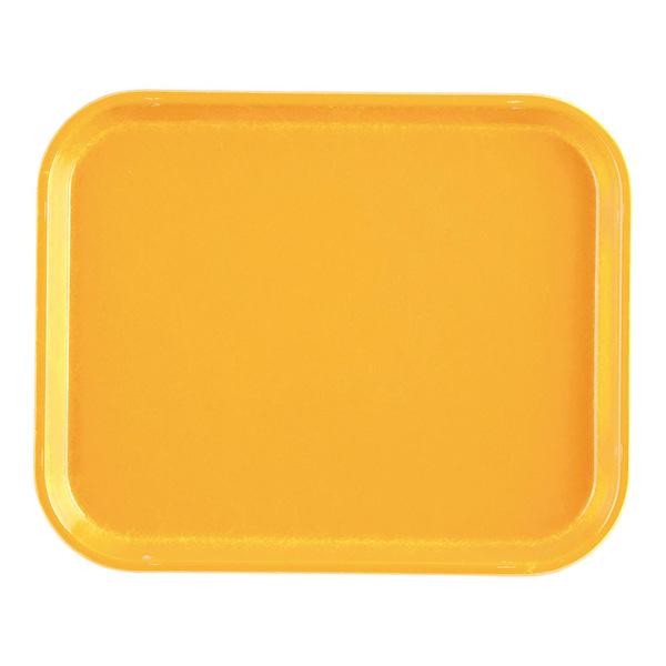 【まとめ買い10個セット品】キャンブロカムトレー(FRP) 1014 マスタード 【厨房館】