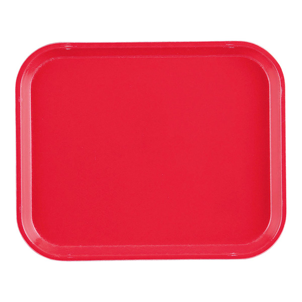 【まとめ買い10個セット品】キャンブロカムトレー(FRP) 1014 キャンブロレッド 【厨房館】