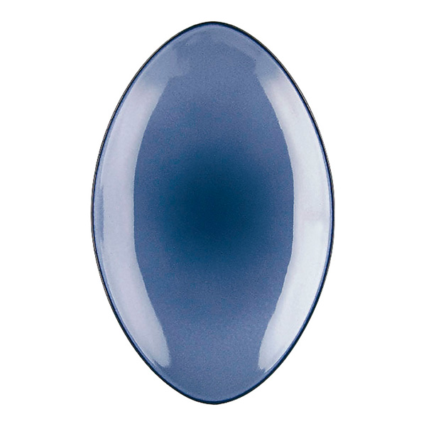 エキノクス オーバルプレート 35cm 649556 シーラス・ブルー