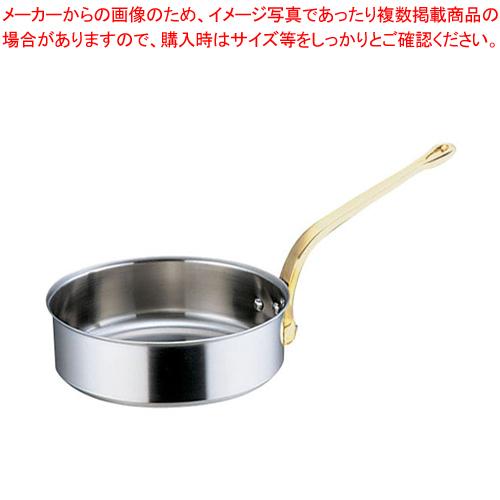 SAスーパーデンジ ソテーパン(蓋無) 30cm【厨房館】【 ソテーパン 】