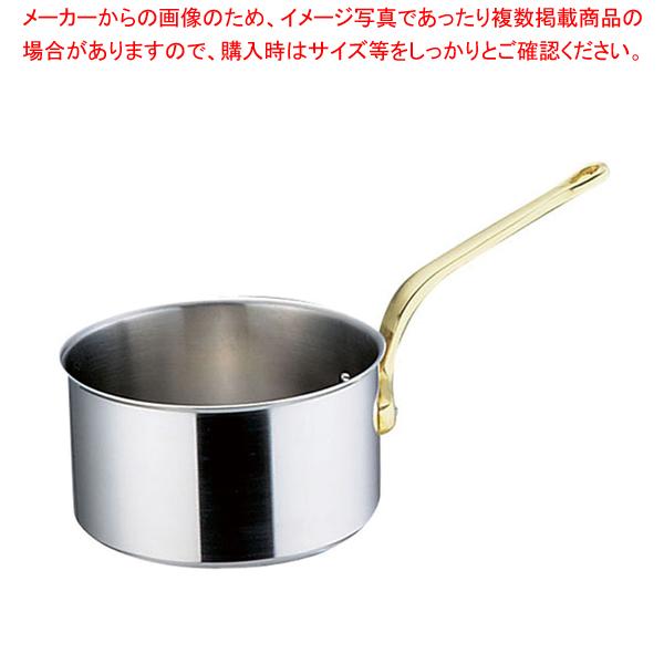 エコクリーン スーパーデンジシチューパン (蓋無) 24cm【 片手鍋 IH IH対応 】 【厨房館】