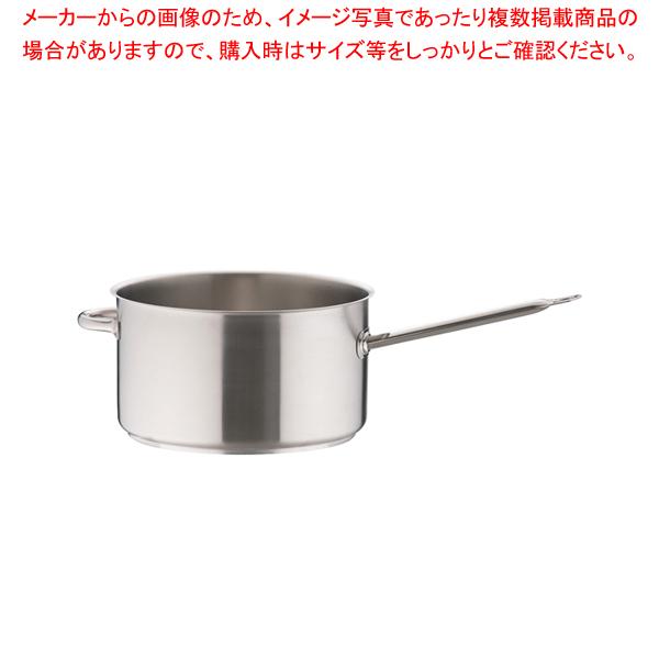 モービルプロイノックス 片手深型鍋 (蓋無) 5930.36 36cm 【厨房館】
