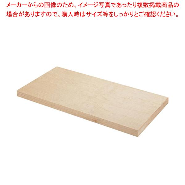スプルスまな板(カナダ桧) 1200×450×H90mm【 木製まな板 業務用 まな板 木 1200mm 】 【厨房館】