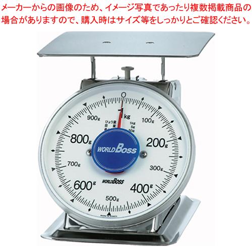 サビないステンレス上皿秤 SA-1S 1kg【 業務用秤 アナログ 】 【厨房館】